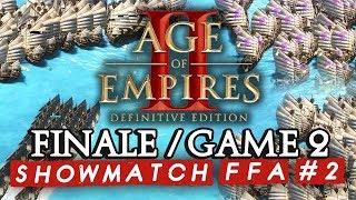 Age of Empires II FFA #2 : Finale - Game 2 (ShowMatch 3000€ Cash prize)