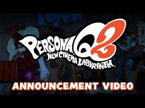 Persona Q2: New Cinema Labyrinth | Announcement