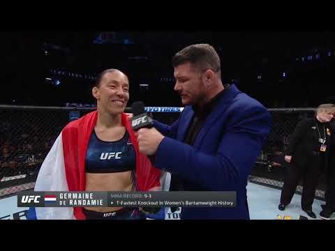 UFC Сакраменто: Де Рандеми vs Лэдд - Слова после боя
