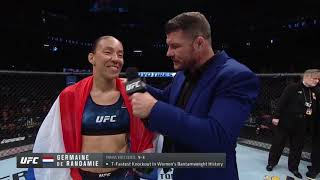 UFC Сакраменто: Де Рандами vs Лэдд - Слова после боя