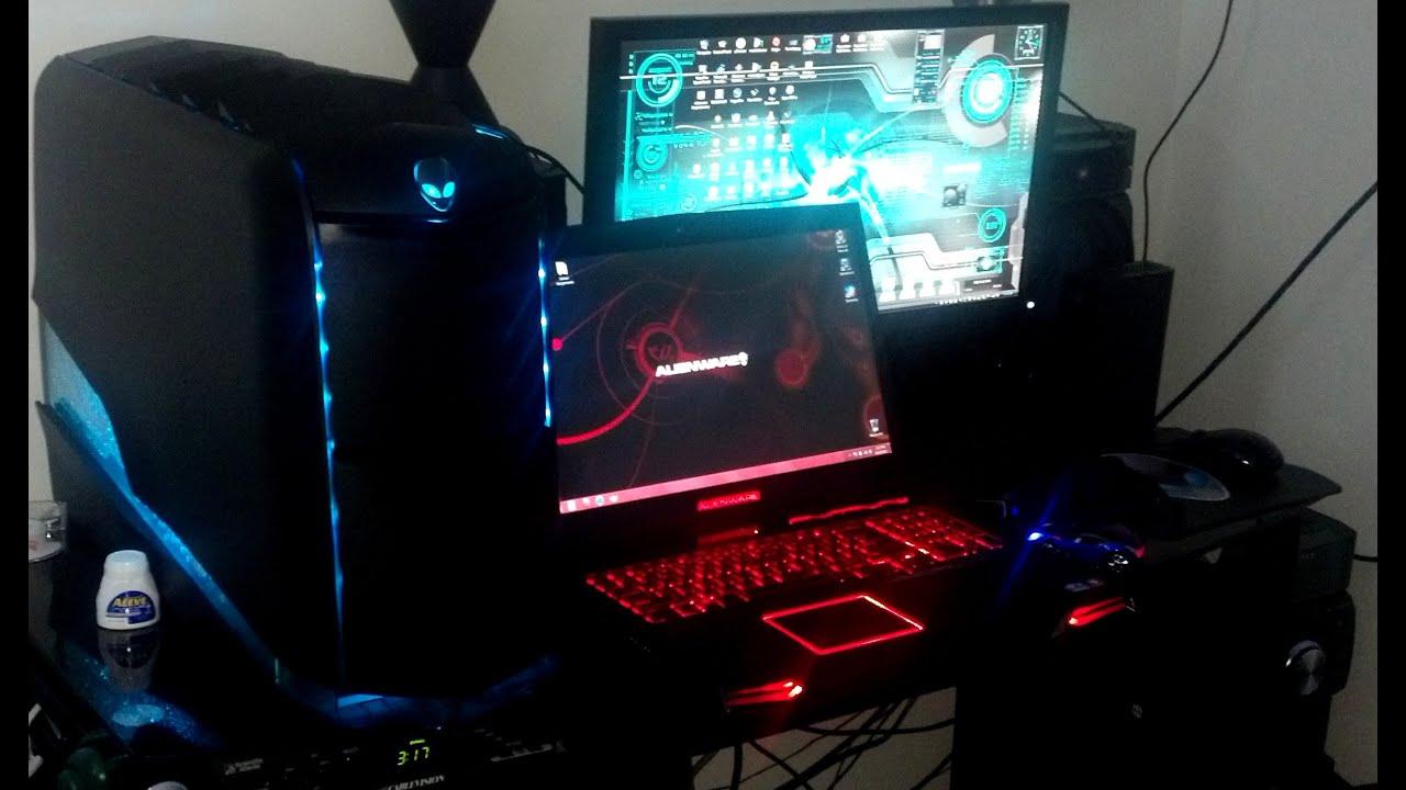 Alienware Aurora R4 And Laptop M17x 240 Fps Futuristic