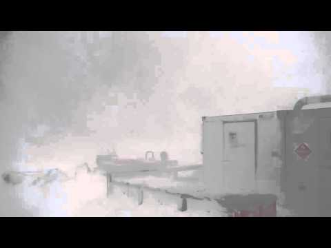 Palmer Station, Antarctica: Another day, another low pressure system