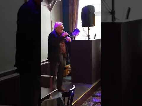 Ollie doing karaoke in scarborough