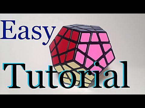EASIEST method to solve the MEGAMINX!