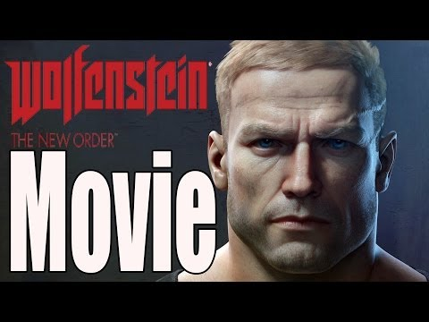 Wolfenstein The New Order The Movie / All Cutscenes HD