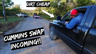 We Bought a Dirt Cheap Truck + Cummins Swap Incoming!!!