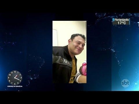 Homem sequestra e mata ex-mulher a facadas na Grande São Paulo | SBT Notícias (07/11/17)
