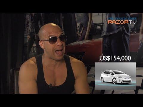 Hollywood stars shocked by Singapore car prices