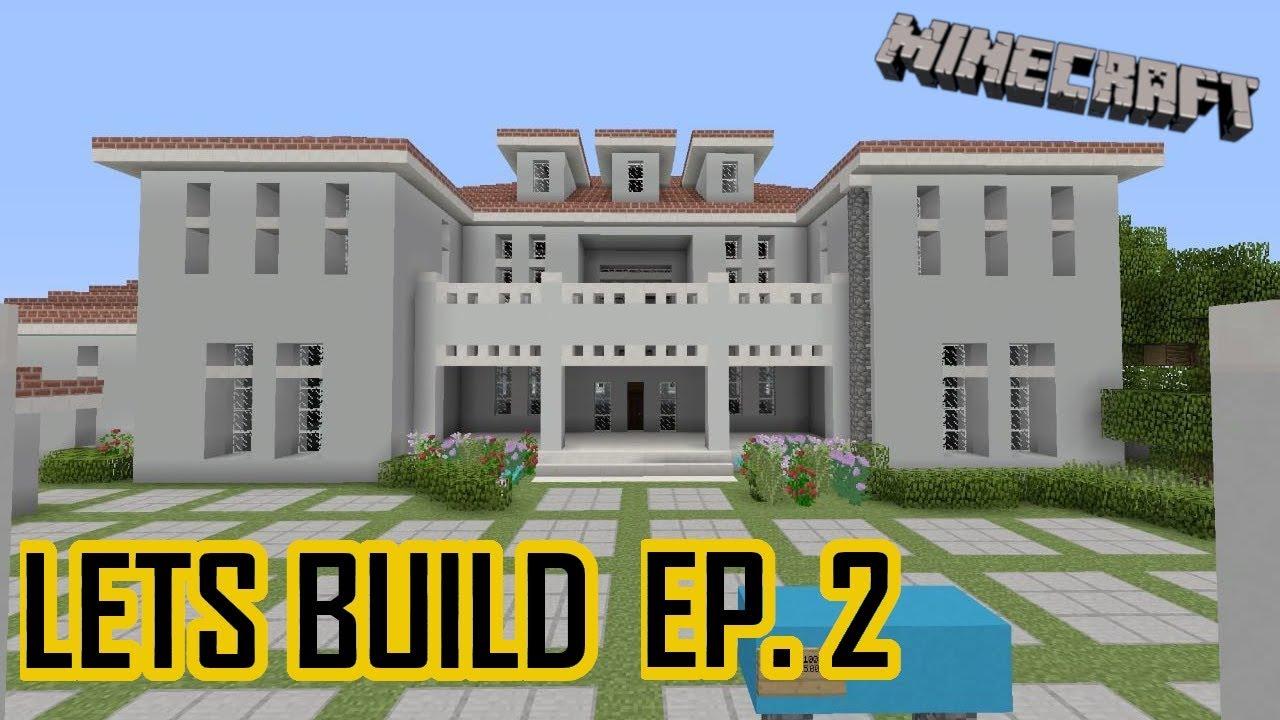 Minecraft Moderne Miami Villa Bauen Tutorial Ep 2 Minecraft Villa