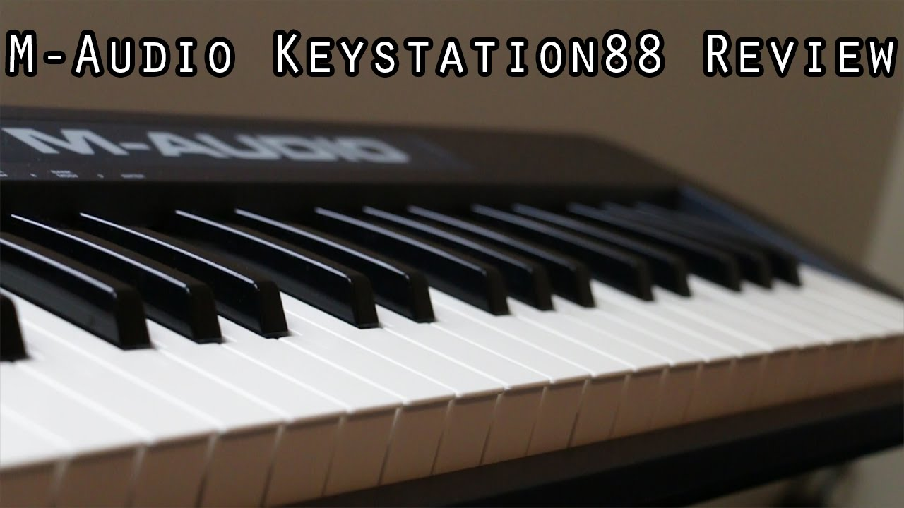 m audio keystation 88 mk ii review youtube. Black Bedroom Furniture Sets. Home Design Ideas