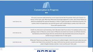 30-ти минутный урок по английскому с носителем бесплатно