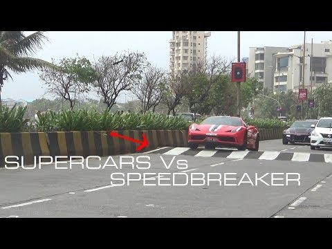 Supercars Vs Speedbreaker   Mumbai   India
