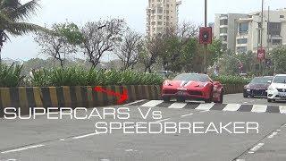 Supercars Vs Speedbreaker | Mumbai | India