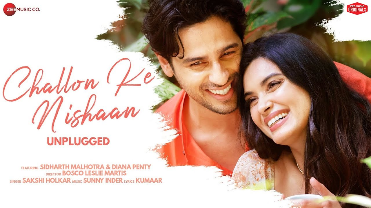 Challon Ke Nishaan - Unplugged   Sidharth M, Diana P Sakshi H,Sunny Inder,Kumaar Zee Music Originals