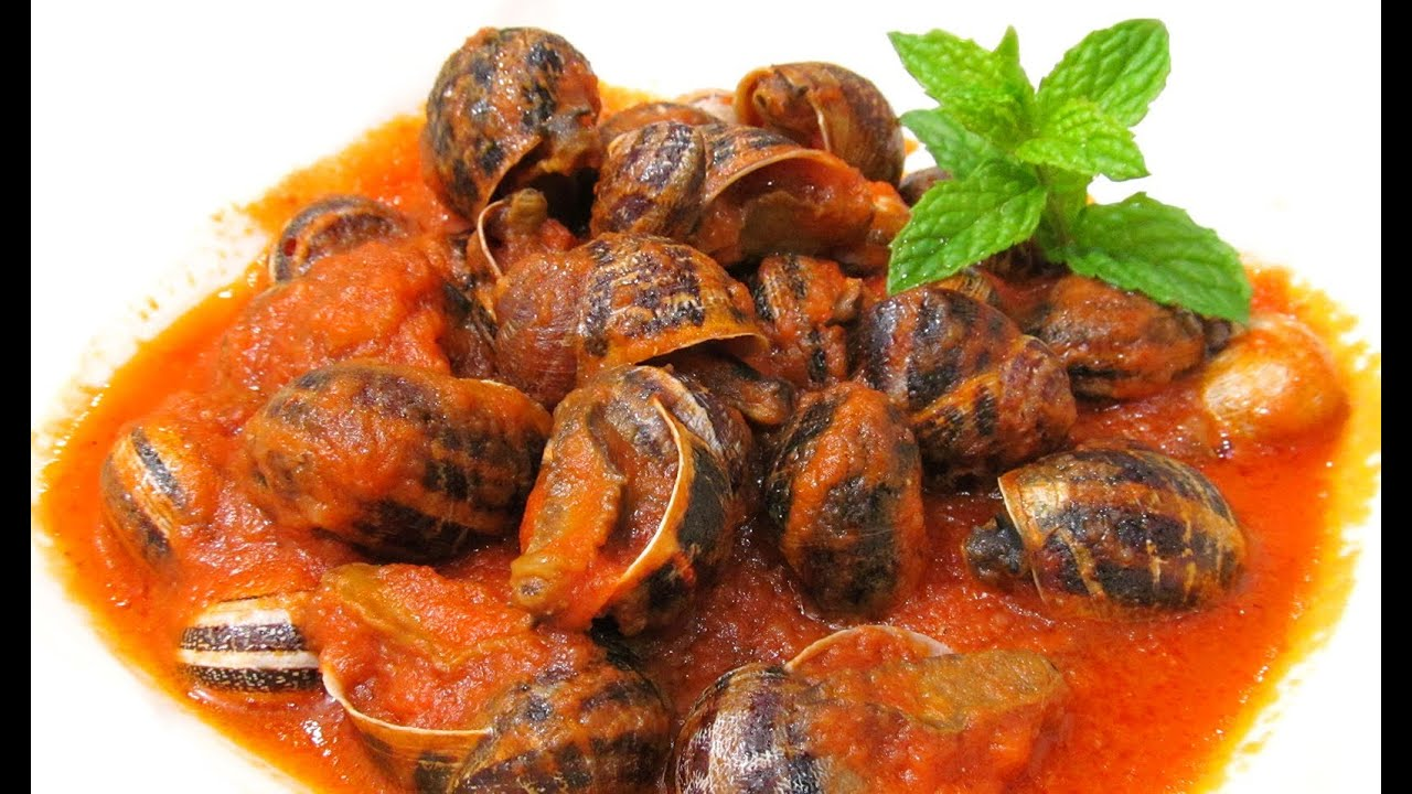 Caracoles en salsa youtube for Caracol de jardin alimentacion