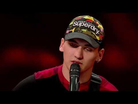 Adrian Negru, compoziție proprie. Vezi interpretarea concurentului, la X Factor!