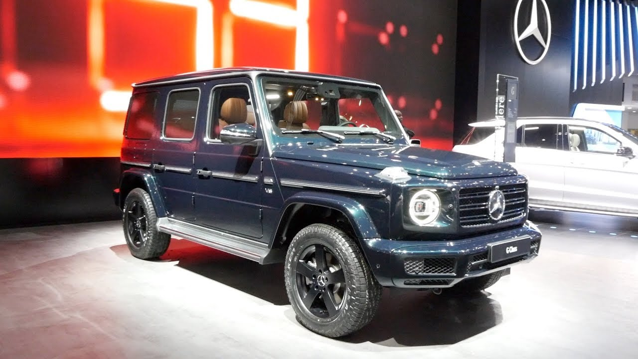 2019 Mercedes Benz G550 2018 Detroit Auto Show Youtube