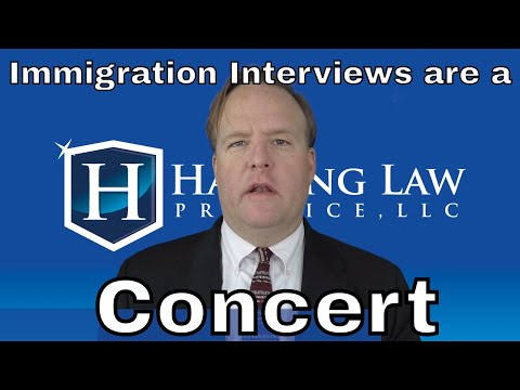 How Immigration Interviews Are Like A Concert