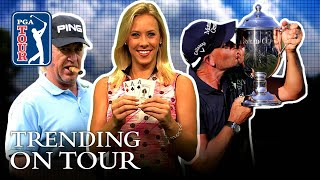 Stenson the Iceman, a trio of aces & JT's Wannamaker memories