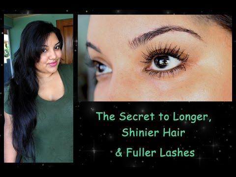 The Secret to Longer Shinier Hair & Fuller Lashes