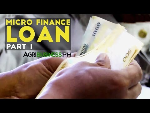 Loans for Farmers Part 1 : Micro-Finance Loan  | Agribusiness Philippines