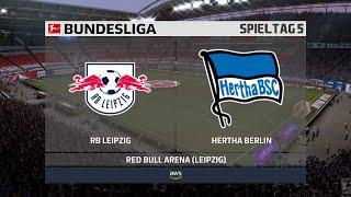 Rb leipzig gegen hertha bsc berlin am 5. spieltag der bundesliga saison 2020/21. ► unterstützt mich: https://www.tipeeestream.com/tpzyt/donationjetzt fifa 21...