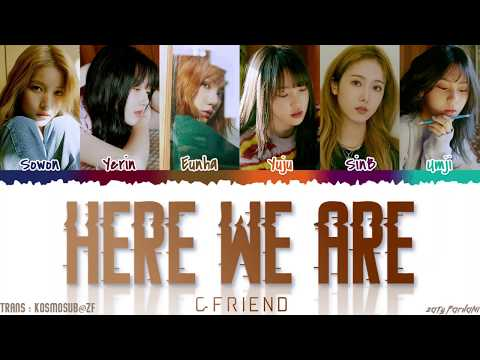 GFRIEND (여자친구) - 'HERE WE ARE' Lyrics [Color Coded_Han_Rom_Eng]