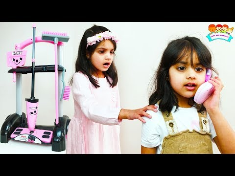Ashu And Cutie Cleans House Pretends Play With Cleaning Toys For Kids