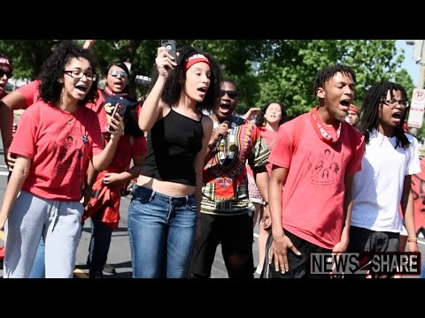 Indigenous Rising Movement Takes to Streets of DC