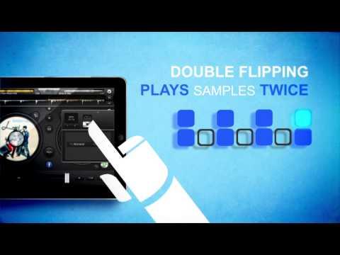 edjing DJ app: Double Flipping tutorial