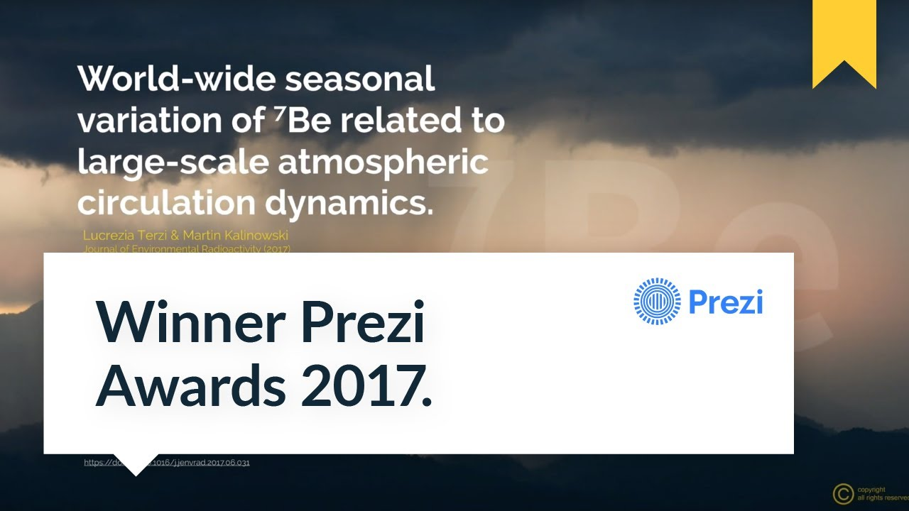Best Prezi 2017 Winner Awards By MrPrezident