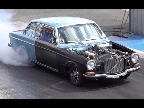 9 SECOND TWIN TURBO V8 VOLVO 164