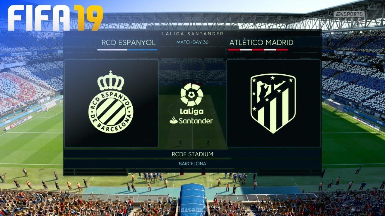 atarse en mejor precio para encontrar mano de obra FIFA 19 - RCD Espanyol vs. Atlético Madrid @ RCDE Stadium
