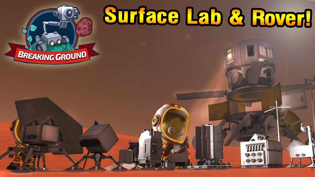 KSP DLC: Duna ROVER + SCIENCE OUTPOST - Breaking Ground