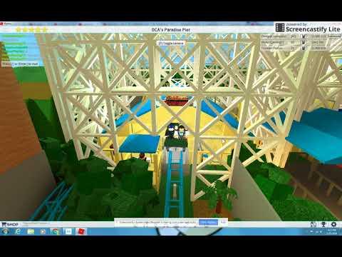 ROBLOX Theme Park Tycoon 2: VinAccGamingYT's More Realistic Hydraulic California Screamin' NOT MINE