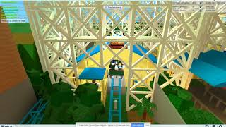 ROBLOX Theme Park Tycoon 2: VinAccGamingYT's Más Realista Hydraulic California Screamin' NO MINE