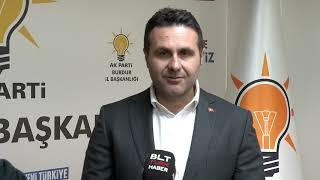 Ak Parti Burdur Belediye Başkan Adayı Deniz Kurt