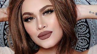 TSOKOLATE VIBES (Chocolate) Makeup Tutorial - Sandee Proud