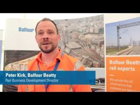 Balfour Beatty at Rail Live in 2016