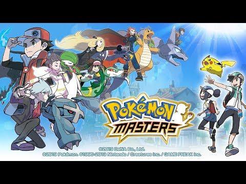 Actual Pokemon Gacha Game - Pokemon Masters