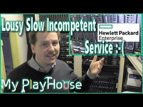 Really Shitty Service from Hewlett Packard Enterprise - 441