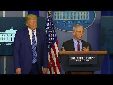 WATCH LIVE: White House Coronavirus Task Force Holds News Briefing