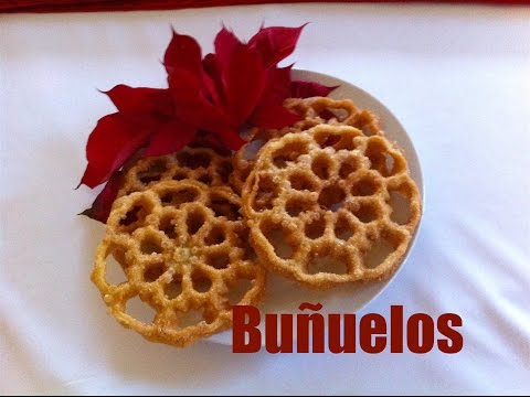 Mexican Bunuelos recipe how to make buñuelos