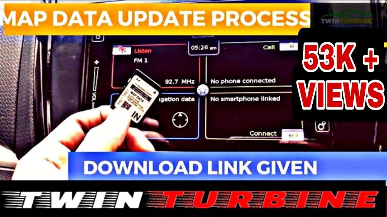 Baleno navigation map sd card update data online download  procedure-2018|Brezza|Ciaz|