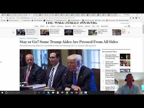 [SITREP] Trump Threatens Shutdown, Sell GS Limo Liberal
