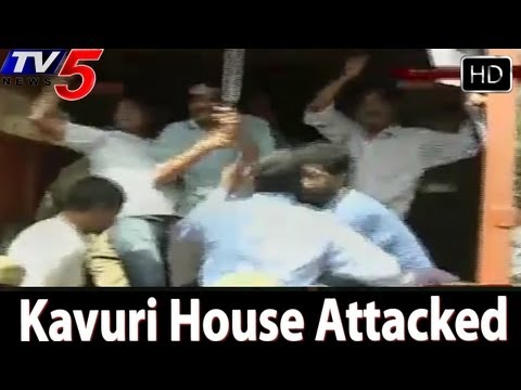 Kavuri House Attacked By Samaikyandhra...