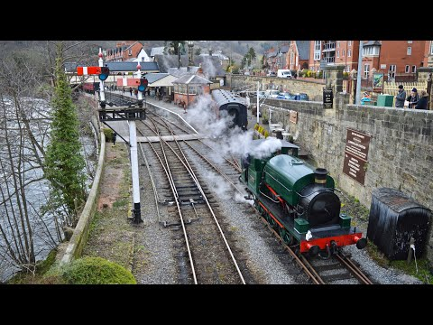 Llangollen Railway - Austin 1 & 7822 Foxcote Manor - 7th March 2020