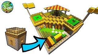 minecraft village transform
