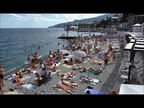 Пляжи Ялты и
