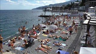 пляжи ялты видео